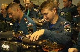 В Зеленограде проверили боевую готовность сотрудников МЧС