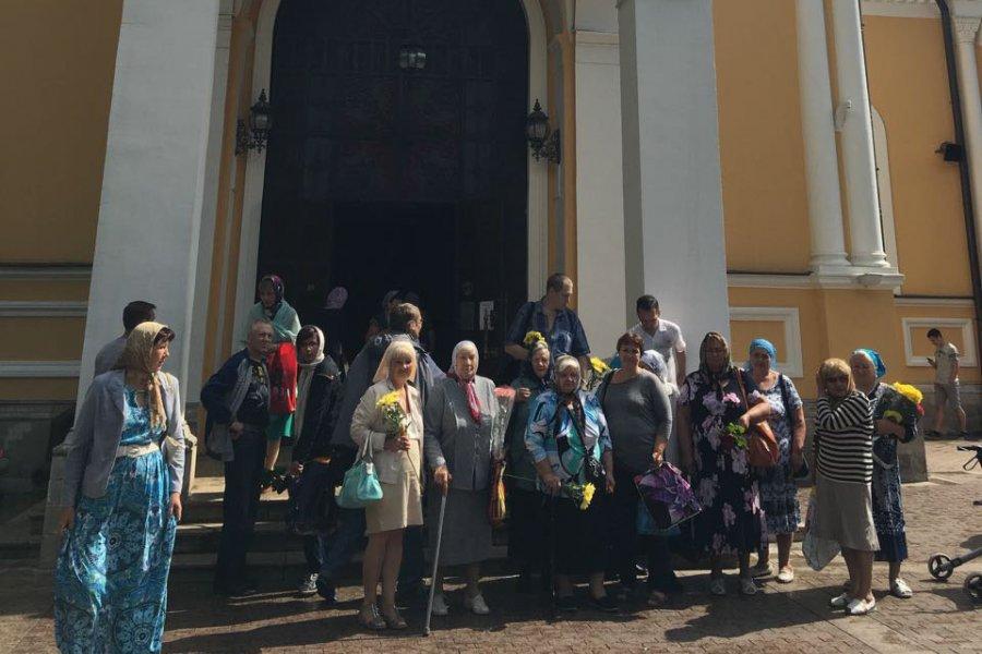 Паломнический тур в Покровский храм был организован для прихожан Никольского храма