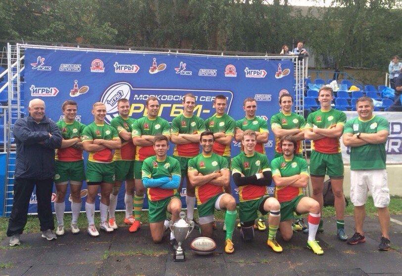 Очередной тур Чемпионата Москвы по регби-7 вновь покорился зеленоградцам