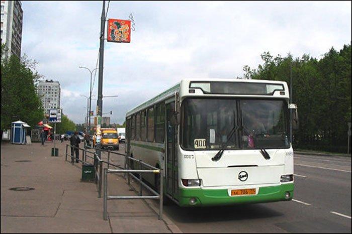 Автобусы маршрута №400