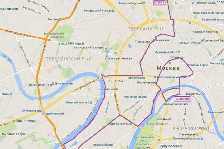 2 июля состоится второй ночной Московский Велопарад