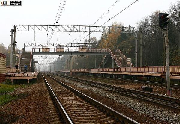 Пешеходный мост на платформе «Малино» будет капитально отремонтирован