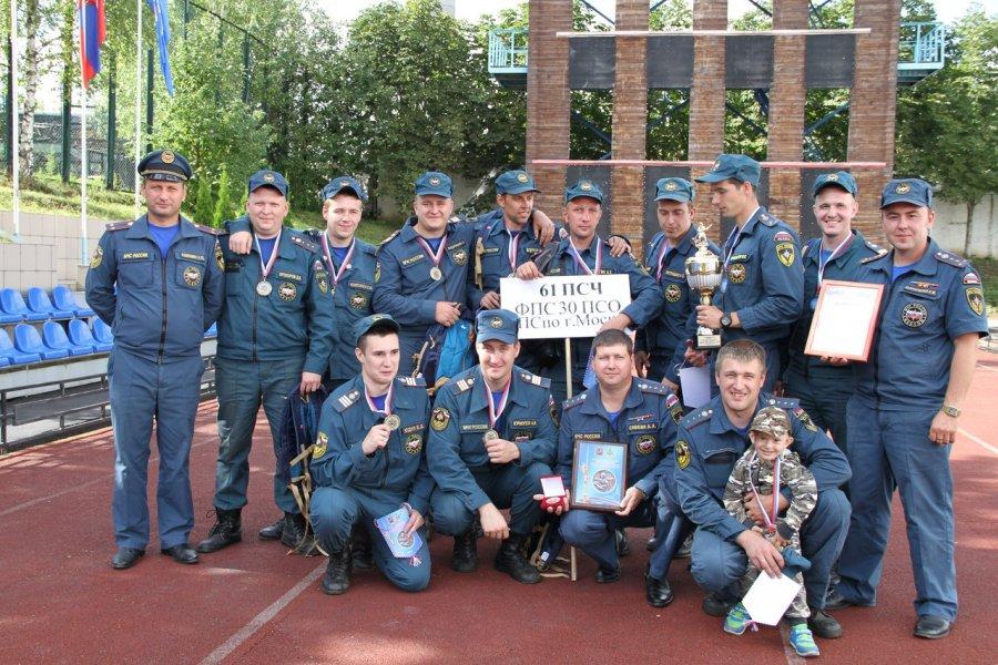 Зеленоградцам не оказалось равных в Москве в пожарном боевом развертывании