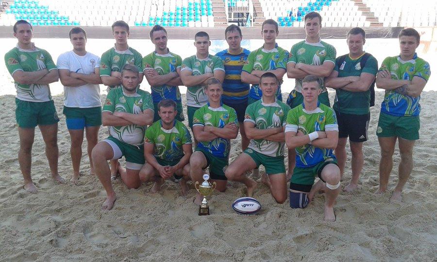 «Зенитовец» и РК «Зеленоград» выступили на турнире по пляжному регби в Москве