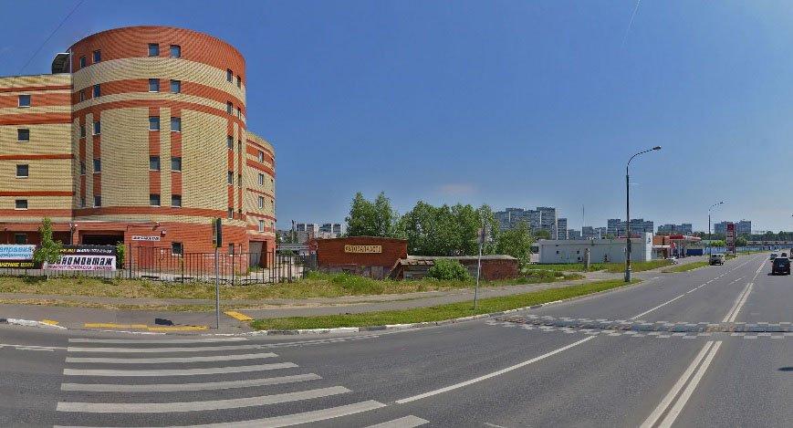 На Новокрюковской улице планируют построить объект придорожного сервиса