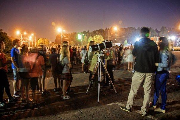 В Зеленограде состоялось удивительное «космическое» событие – Астроночь