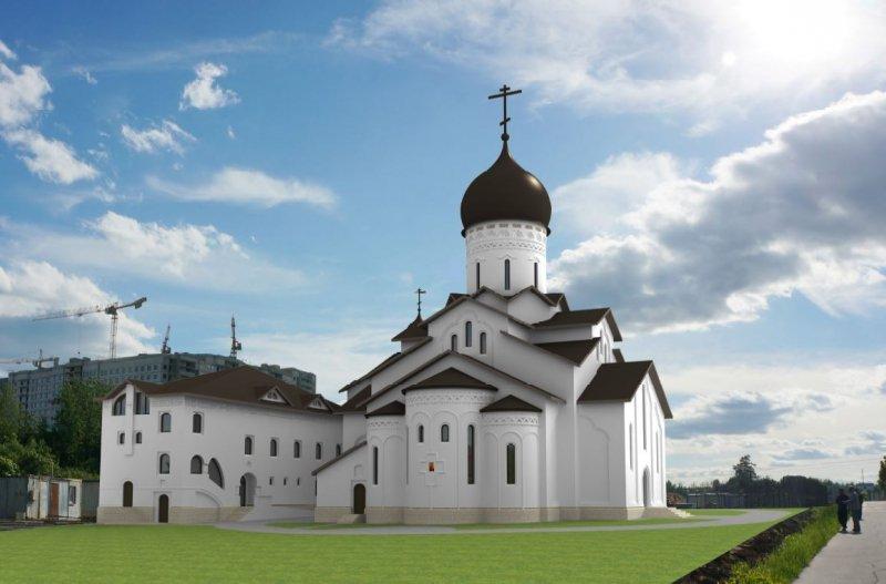 Храм в микрорайоне «Жемчужина Зеленограда» будет выполнен в стиле Русского Севера