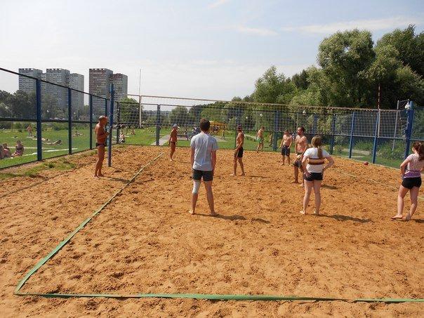 В Зеленограде состоялся турнир по пляжному волейболу