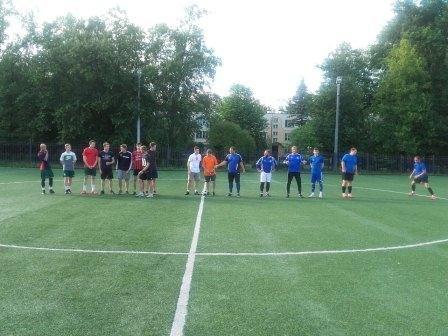 В Зеленограде прошёл первый матч финальных игр Московской межокружной Спартакиады