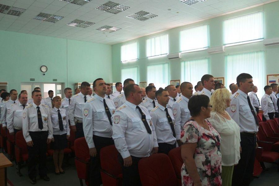 Дорожных полицейских Зеленограда поздравили с 80-летием образования подразделения