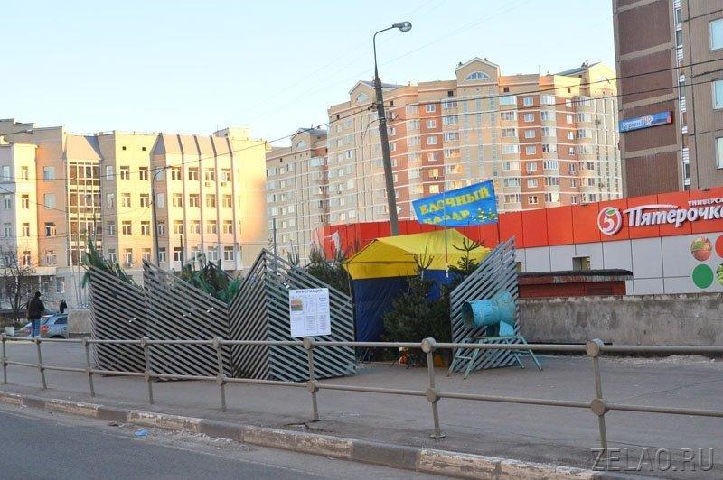Елочных базаров в Зеленограде может стать больше
