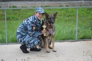 Зеленоградский инспектор попала в число лучших кинологов московской полиции