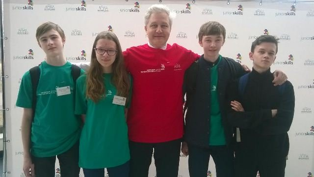 Зеленоградские лицеисты и гимназисты стали победителям и призерами II Регионального чемпионата JuniorSkills Russia