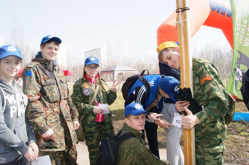 Школа №1692 приняла участие в зеленоградском Первенстве по туризму среди школьников