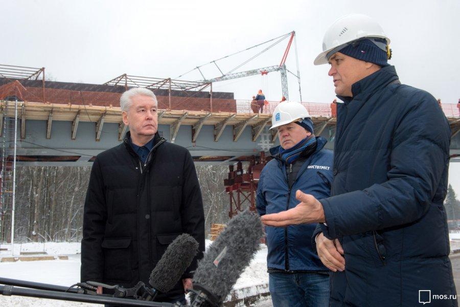 До конца 2017 года в Москве планируется построить шесть путепроводов через ж/д пути
