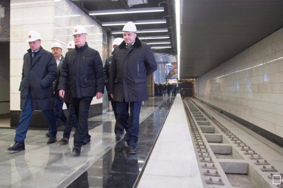 Около 100 км новых линий метро построено в Москве с 2011 года