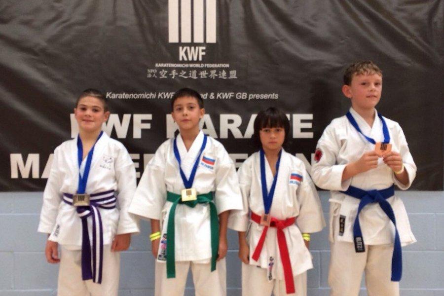 Четыре золотых медали каратисты Зеленограда завоевали на Чемпионате Европы KWF 2016
