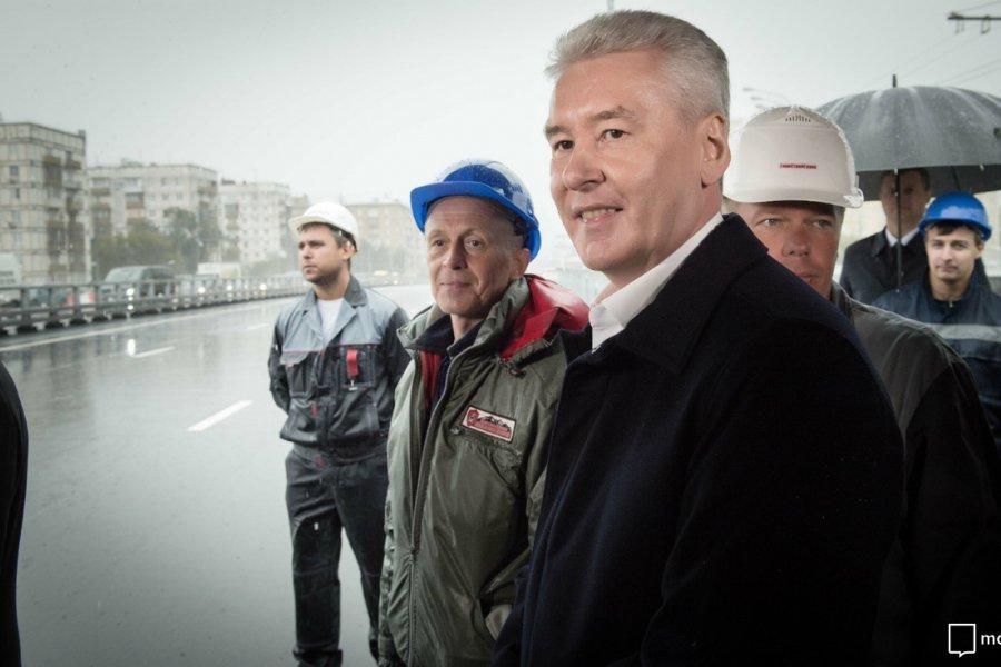 В Москве открыто движение по Волоколамскому путепроводу