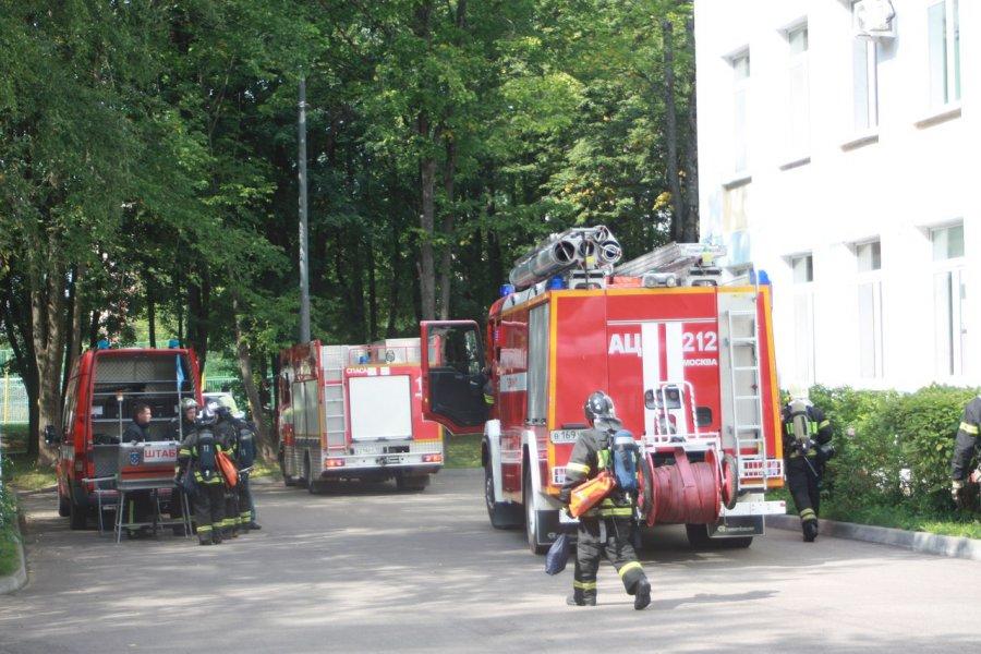 В Зеленограде завершился месячник пожарной безопасности