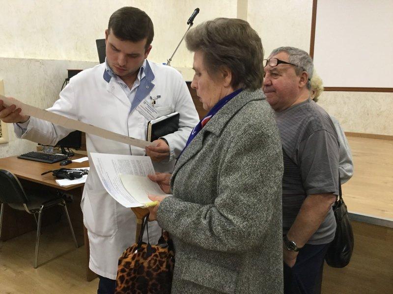 В городской больнице Зеленограда состоялся разговор на «сердечные темы»