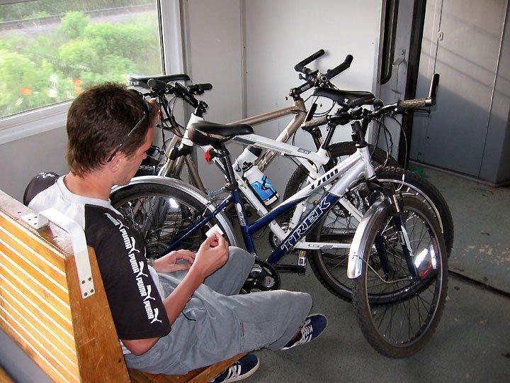 Всю следующую неделю перевозить велосипеды в электричках можно будет бесплатно