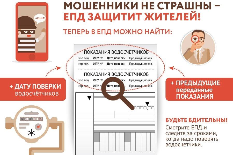 Единый платежный документ защитит жителей от мошенников