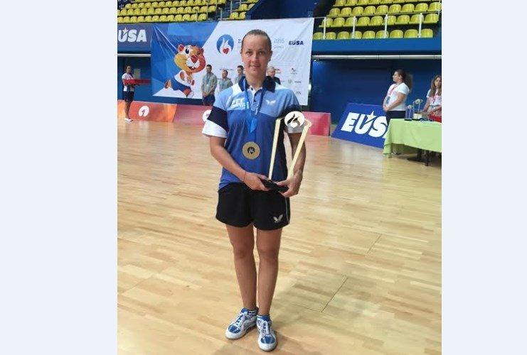 Зеленоградская участница взяла «золото» и «серебро» на 3-й Европейской Универсиаде