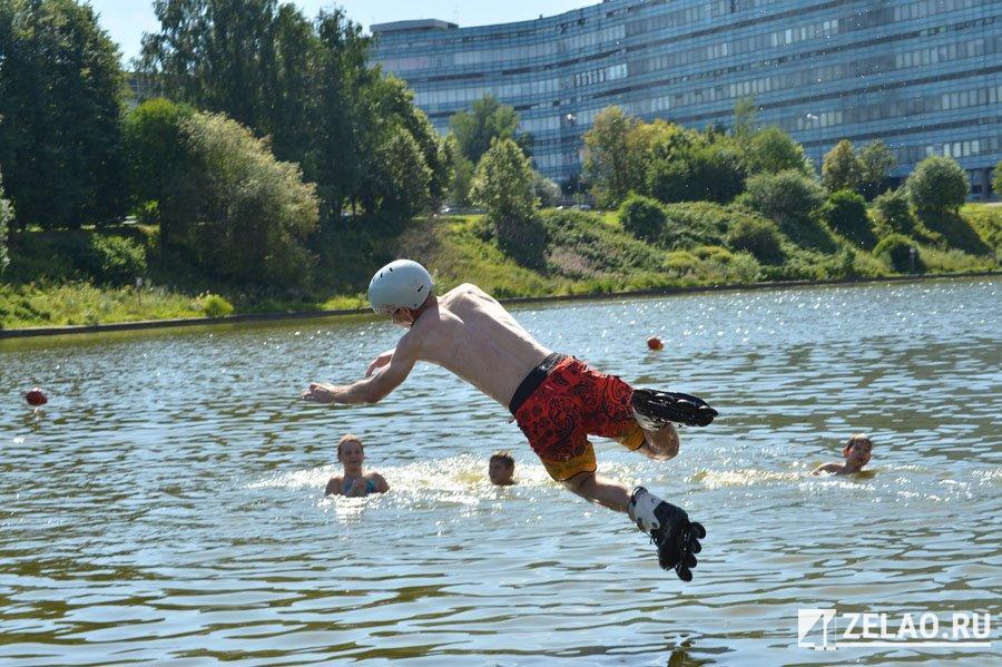 Соревнования по прыжкам в воду на роликах «Ватерджамп» пройдут на Ангстреме