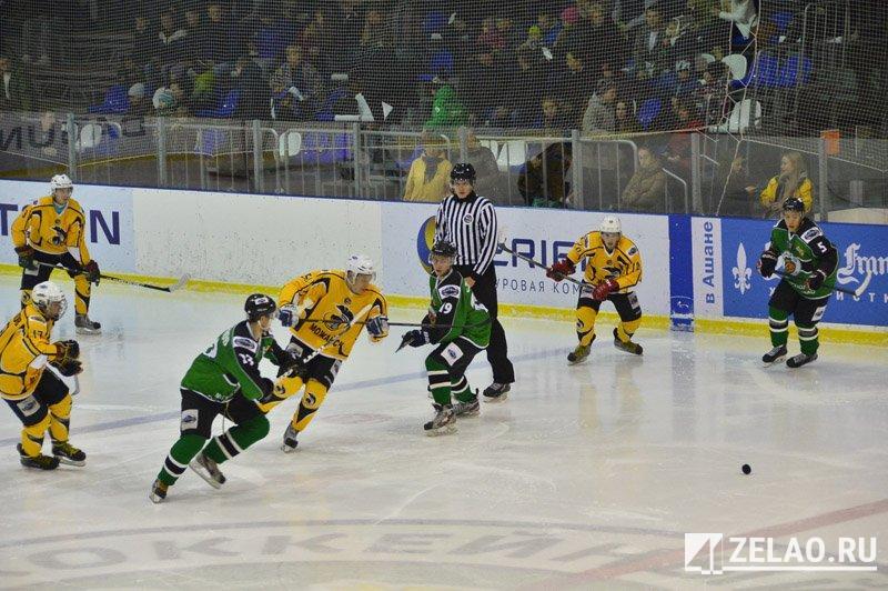 ХК «Зеленоград» сыграет в западной конференции с 12-ю командами