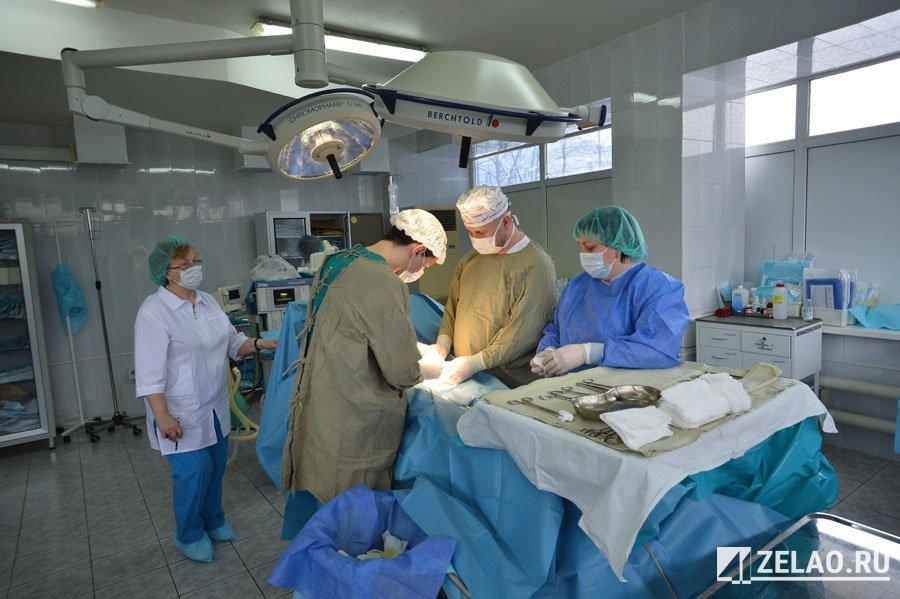 В горбольнице Зеленограда проводят операции на щитовидной железе