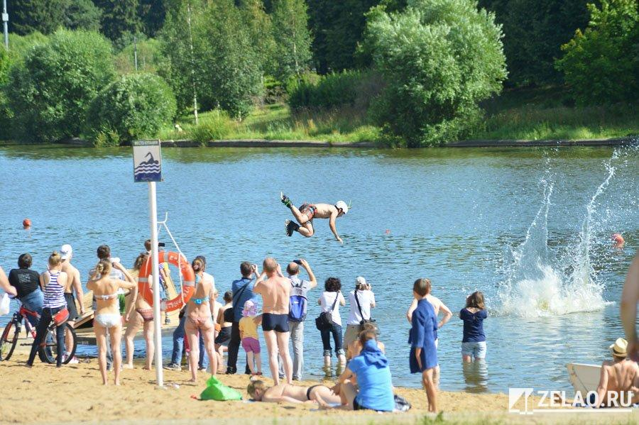 В Большом городском пруду вновь разрешили купаться