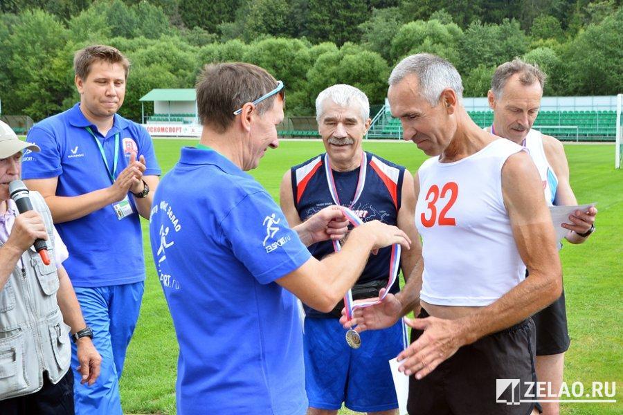 В Зеленограде успешно прошёл легкоатлетический кросс для пенсионеров
