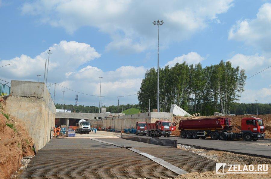 Собянин: Развязка на въезде в Зеленоград будет открыта осенью 2016 года