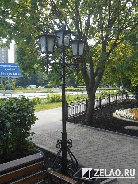 Этим летом планируется завершить благоустройство Пушкинского сквера в Зеленограде