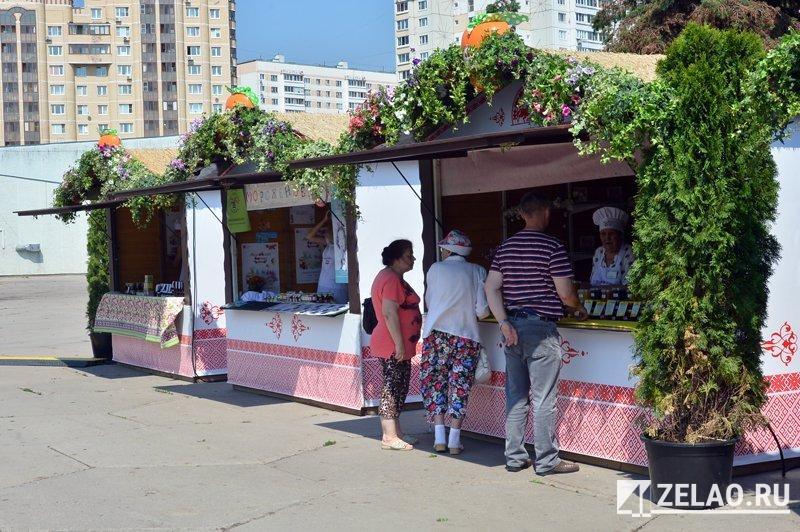 На площади Юности стартовал фестиваль «Московское варенье. Дары природы»