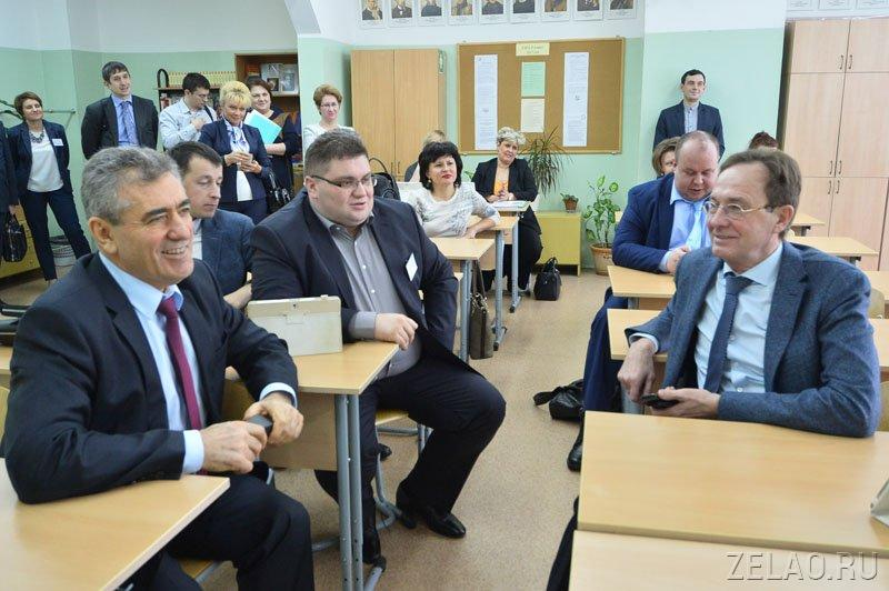 Исаак Калина: «Зеленоград одним из первых осваивает передовые технологии в системе образования»
