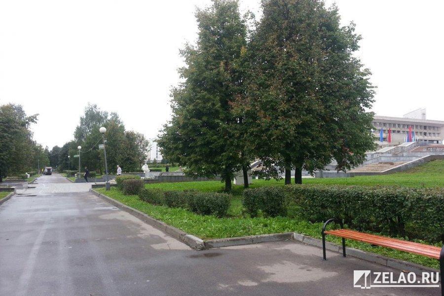 В Парке Победы появятся новые малые архитектурные формы