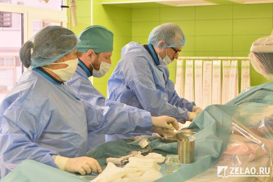 В сосудистом центре Зеленограда провели свыше 40 имплантаций <span id=