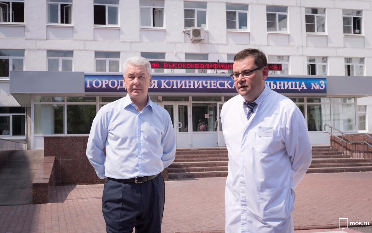 Сергей Собянин: «Следующий шаг – создание в структуре горбольницы №3 полноценного детского стационара»