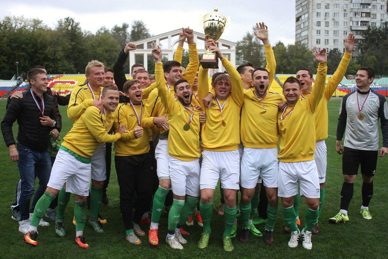 ФК «Зеленоград» в четвертый раз подряд стал обладателем Кубка Москвы по футболу