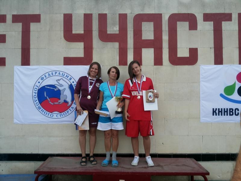 Зеленоградская городошница взяла «серебро» на всероссийских соревнованиях в Крыму